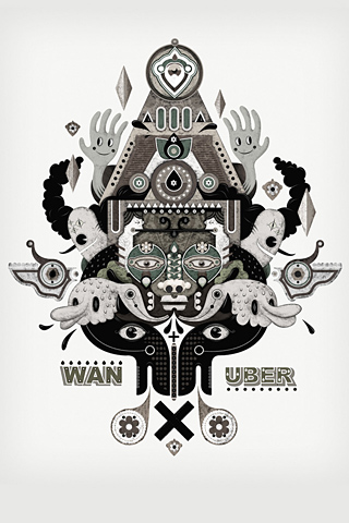 Wan X Uber by Jonny Wan + uberkraaft